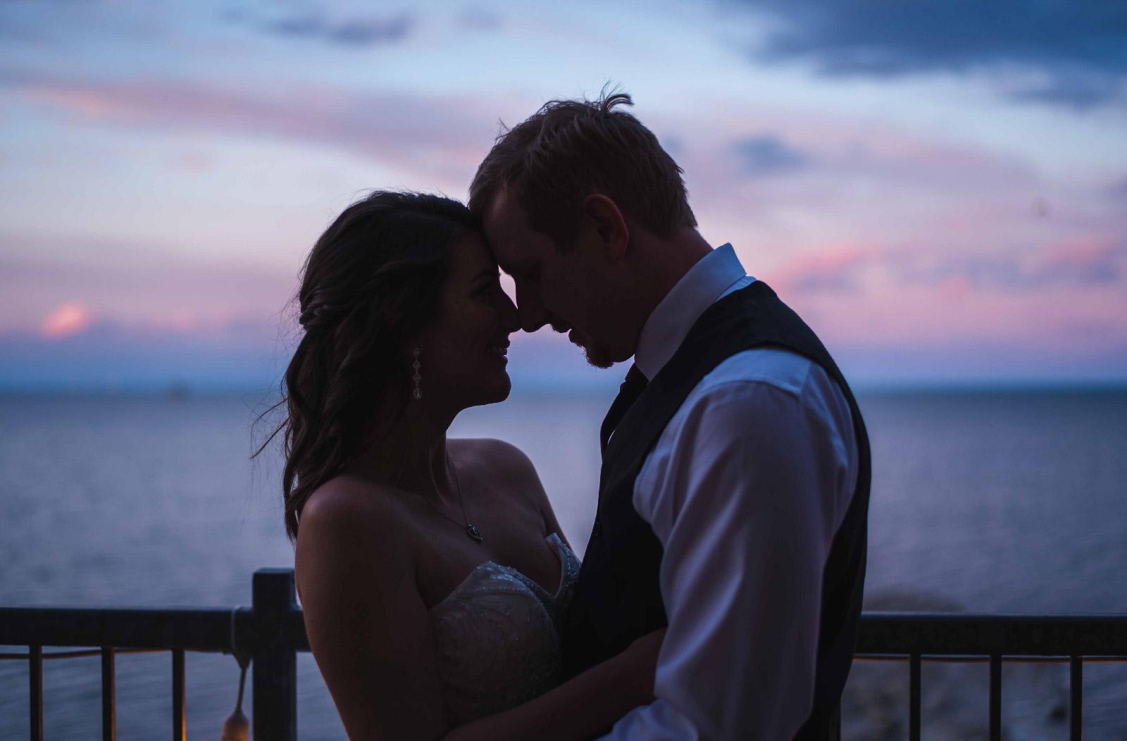 Noah & Caitlin's Sunset Photo Hush Hush Photography & Film Aidan Hennebry Hamilton Wedding Photographer Videographer-01.jpg