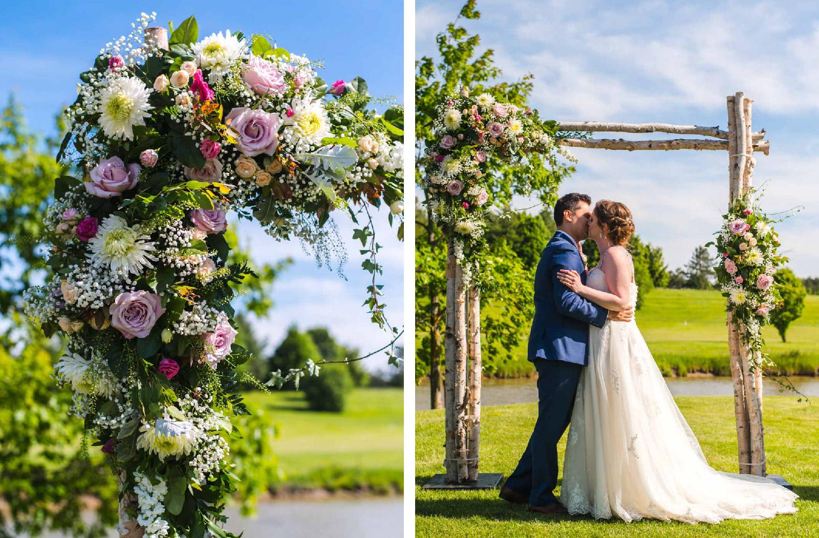 Carlos & Jaime First Kiss Knollwood Golf Club Hush Hush Photography & Film Aidan Hennebry Hamilton Wedding Photographer Videographer-01.jpg