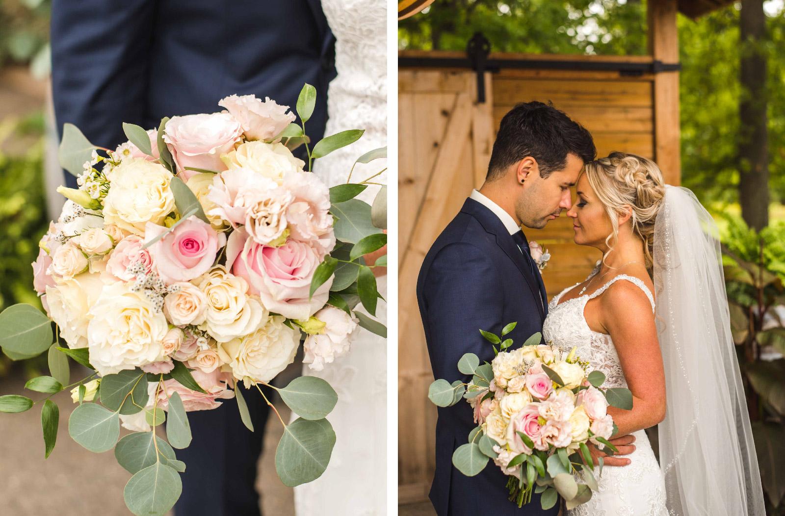 Eli & michelle's Flower details Hush Hush Photography & Film Aidan Hennebry Hamilton Wedding Photographer Videographer-01.jpg