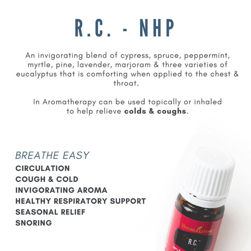 RC essential oil blend