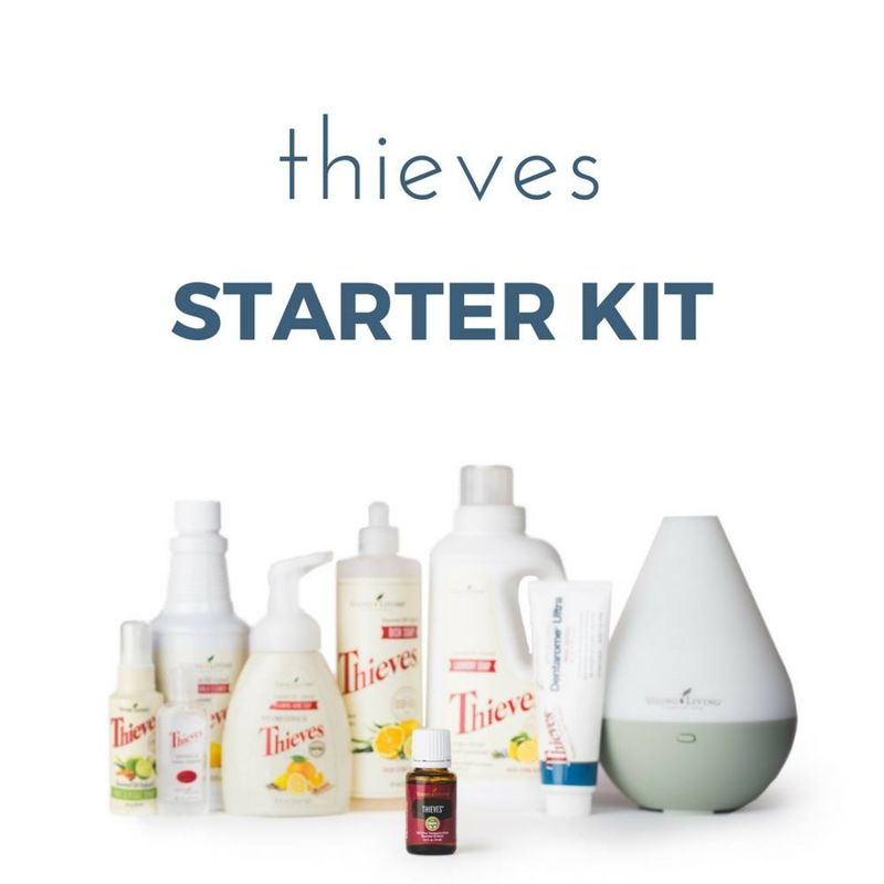 Thieves Essential Oil Starter Kit