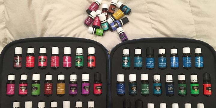 Young Living Essential Oils Kit