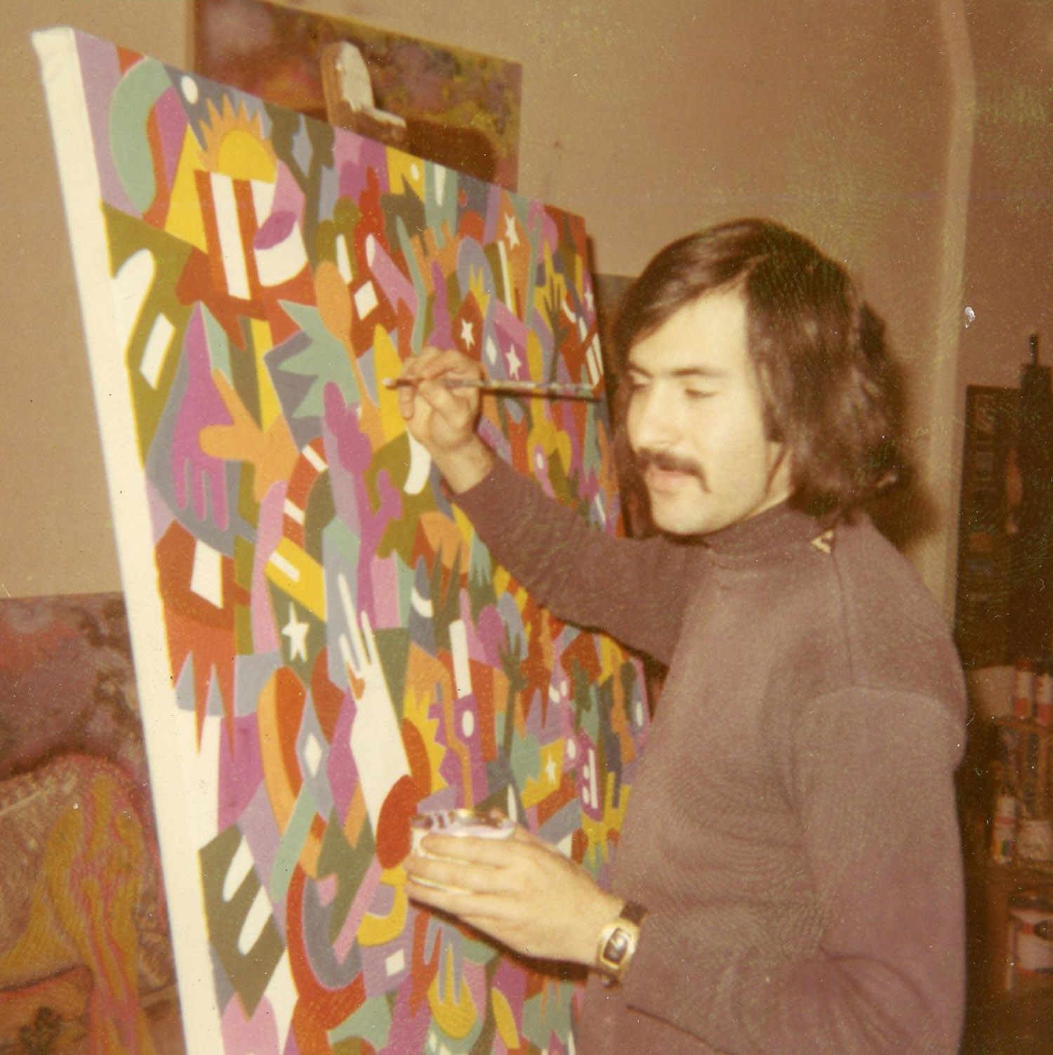 Marc painting, c. 1971.