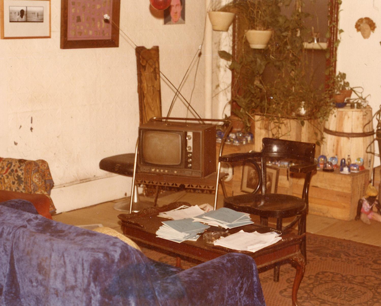 Living room, c. 1974