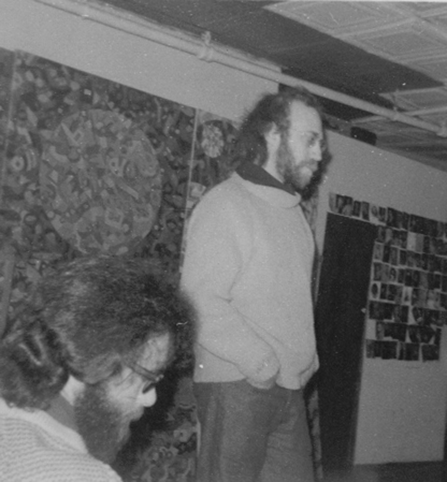 Tom Wolf and Ted Schroder, c. 1970.