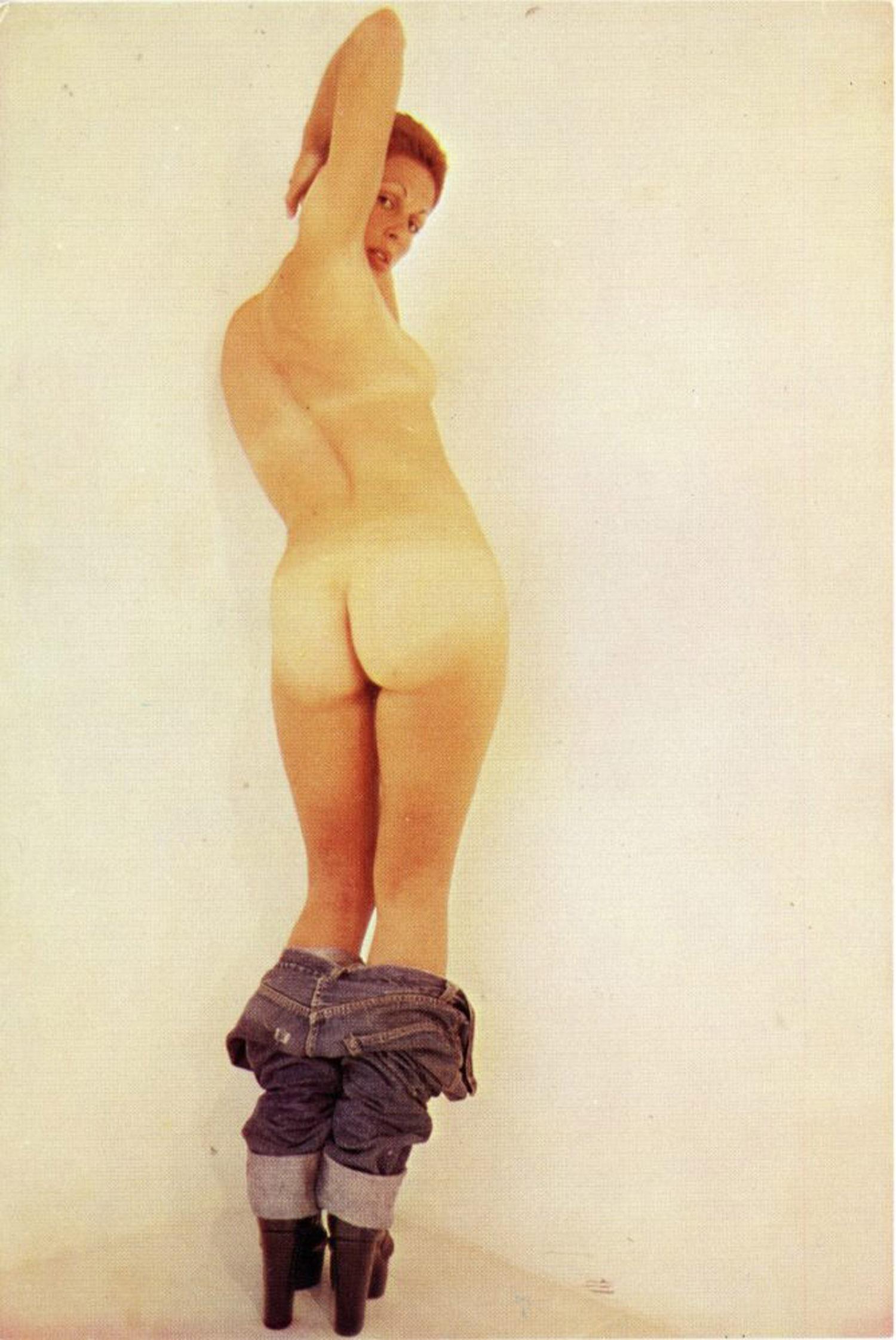 Paula Cooper Gallery, Lynda Benglis, Metallized Knots, Card, 1974