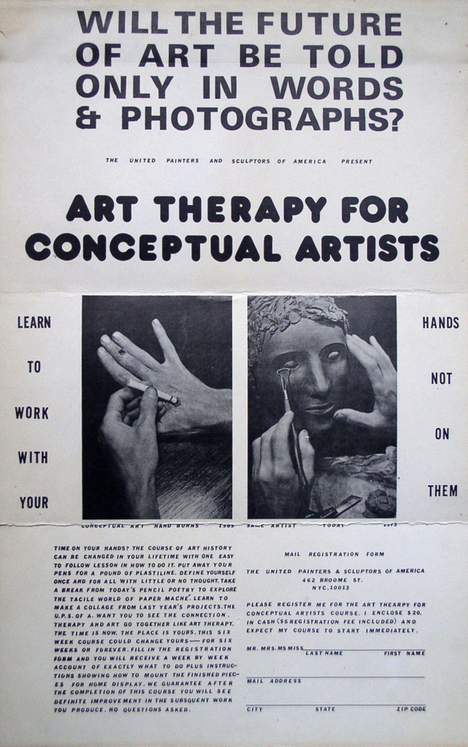 Neke Carson, Art Therapy for Conceptual Artists