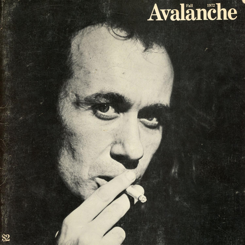 Avalanche Magazine, Vito Acconci