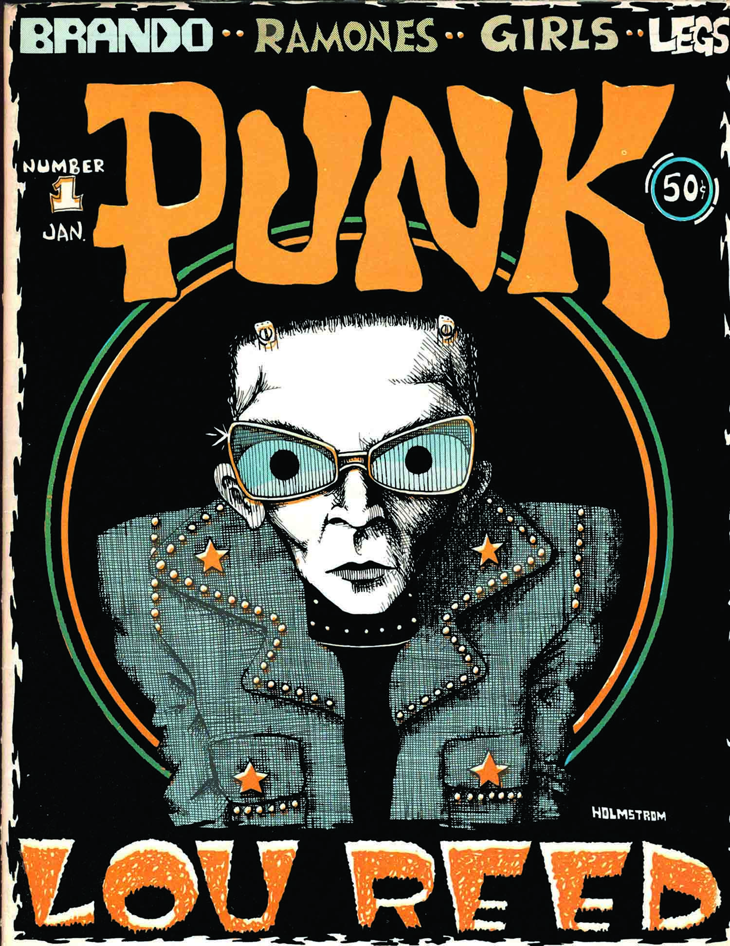 Punk Magazine, Issue 1, January 1976