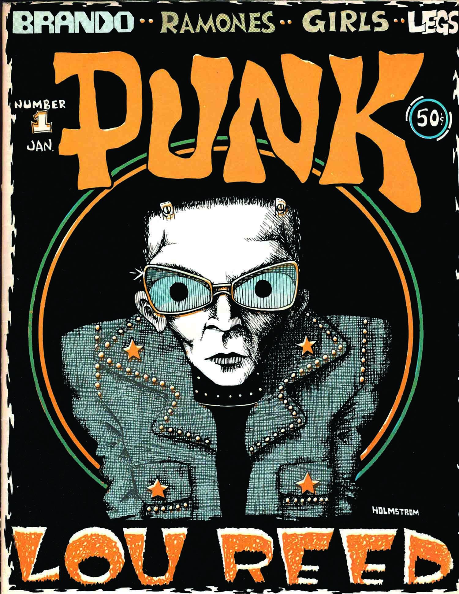 Punk Magazine, Issue 1, January 1976