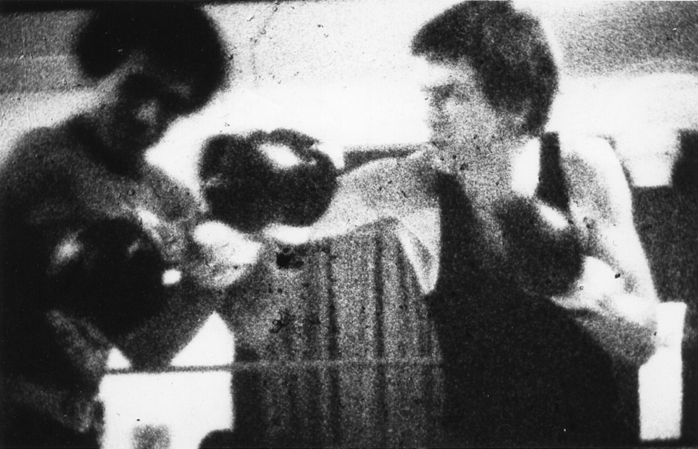 Tom Otterness, Still from Golden Gloves Fight Film, 1978