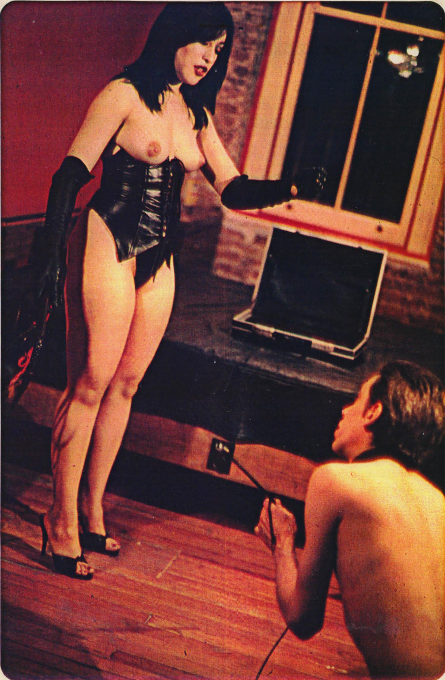 "Beth B & Scott B, Sylvia and Bill Rice in ""Max Karl,"" film production still, 1978"