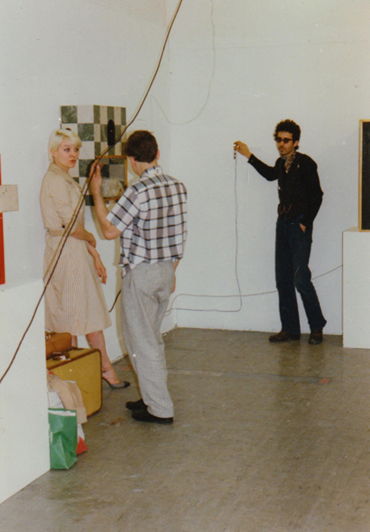 Patti Astor, Steven Kramer and Henry Benvenuti, Washington DC, 1978