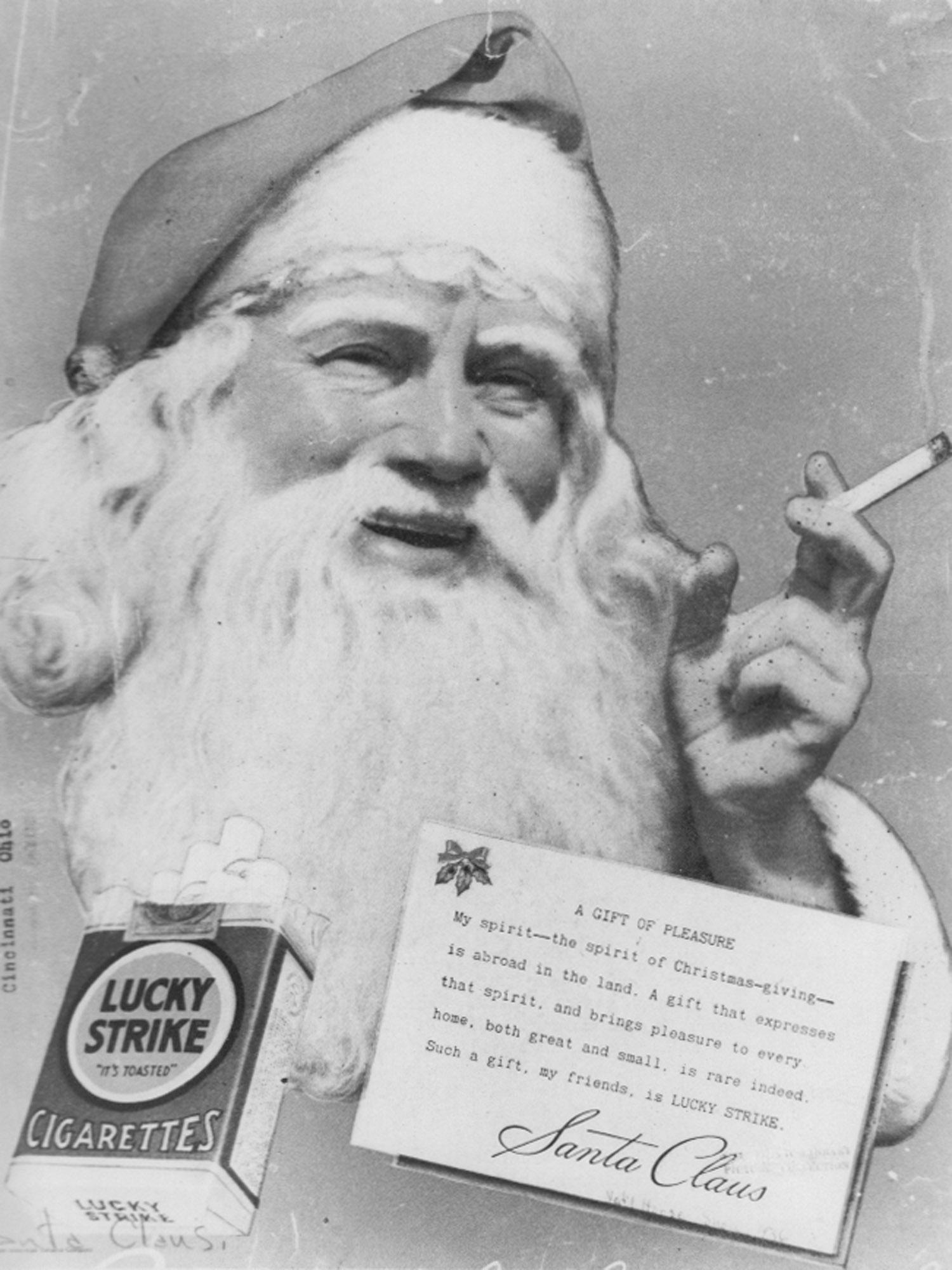 Luck Strike magazine advertisement, 1930s Photos Courtesy: National Archives