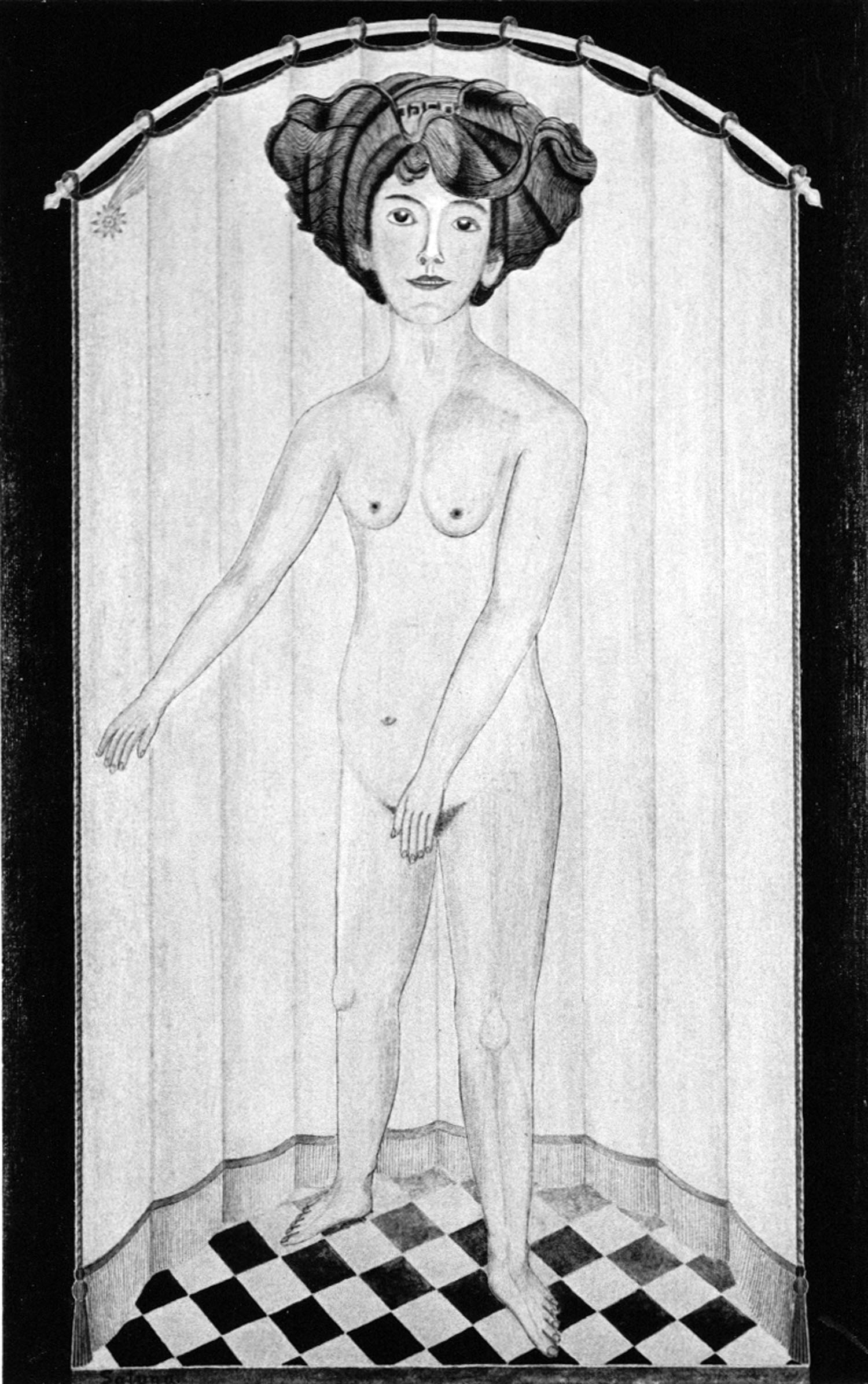 August Natterer, Santana, 1901