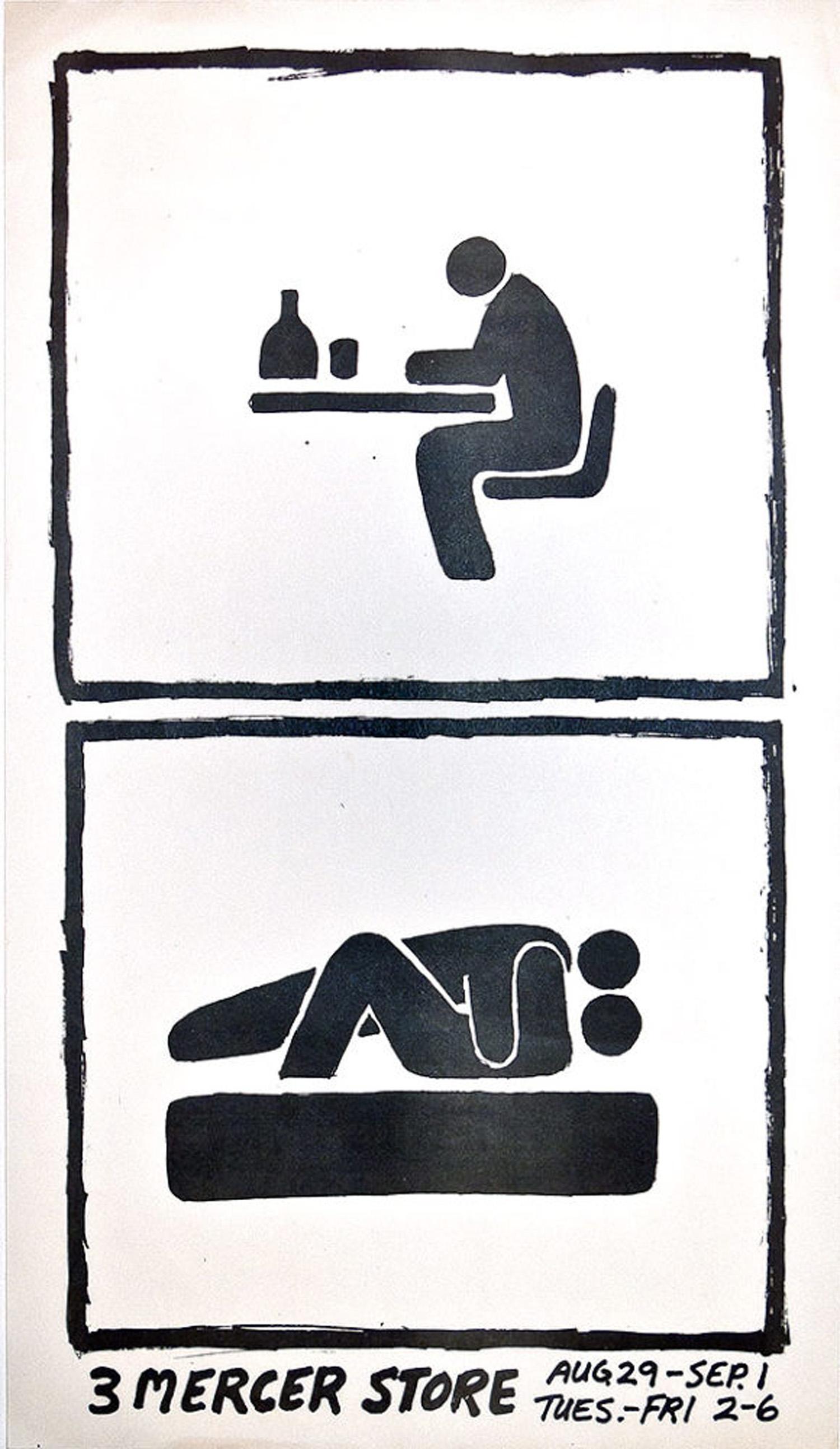 3 Mercer Street Store, Tom Otterness, Poster, 1972