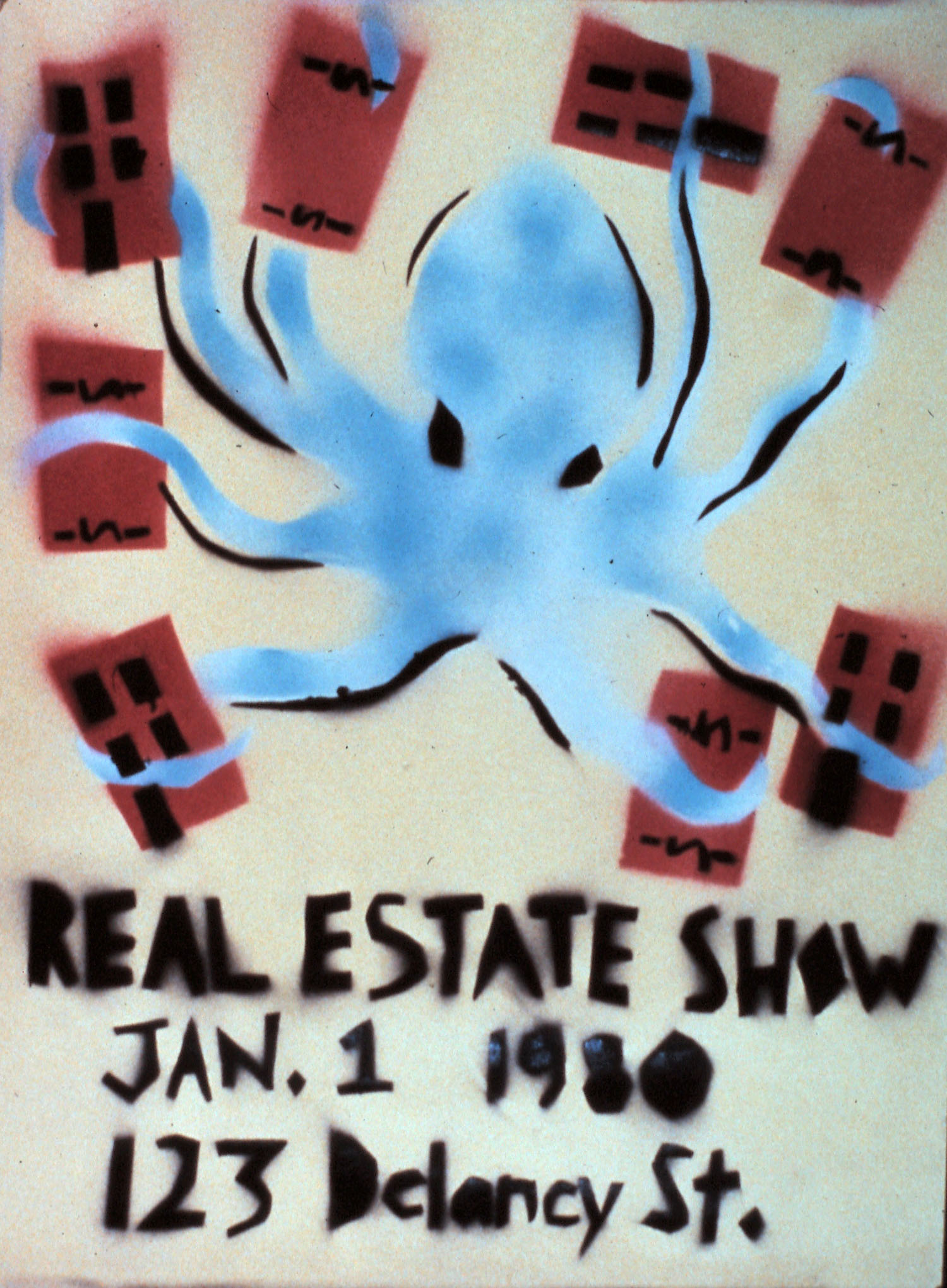 Real Estate Show poster by Becky Howland