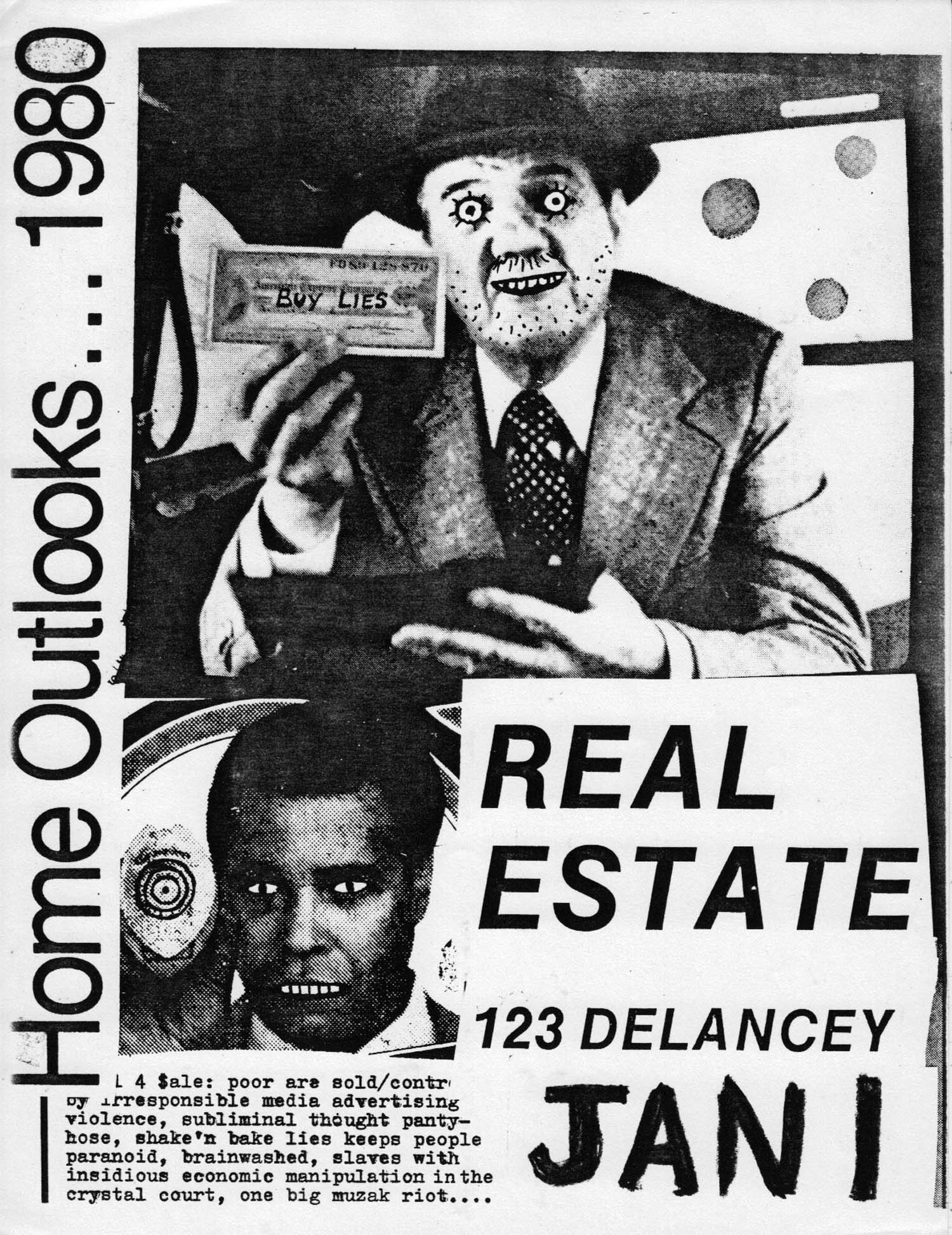 Real Estate Show poster by Andy Baird