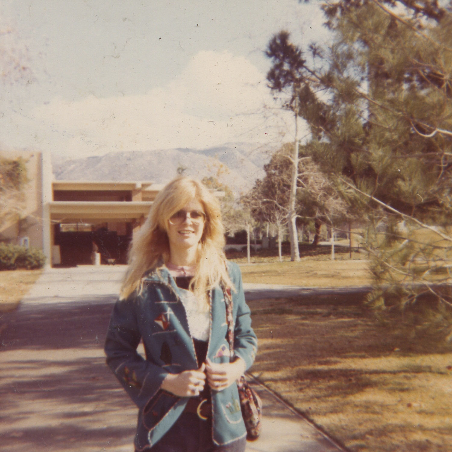 Carla at the University of California at Riverside, c. 1968