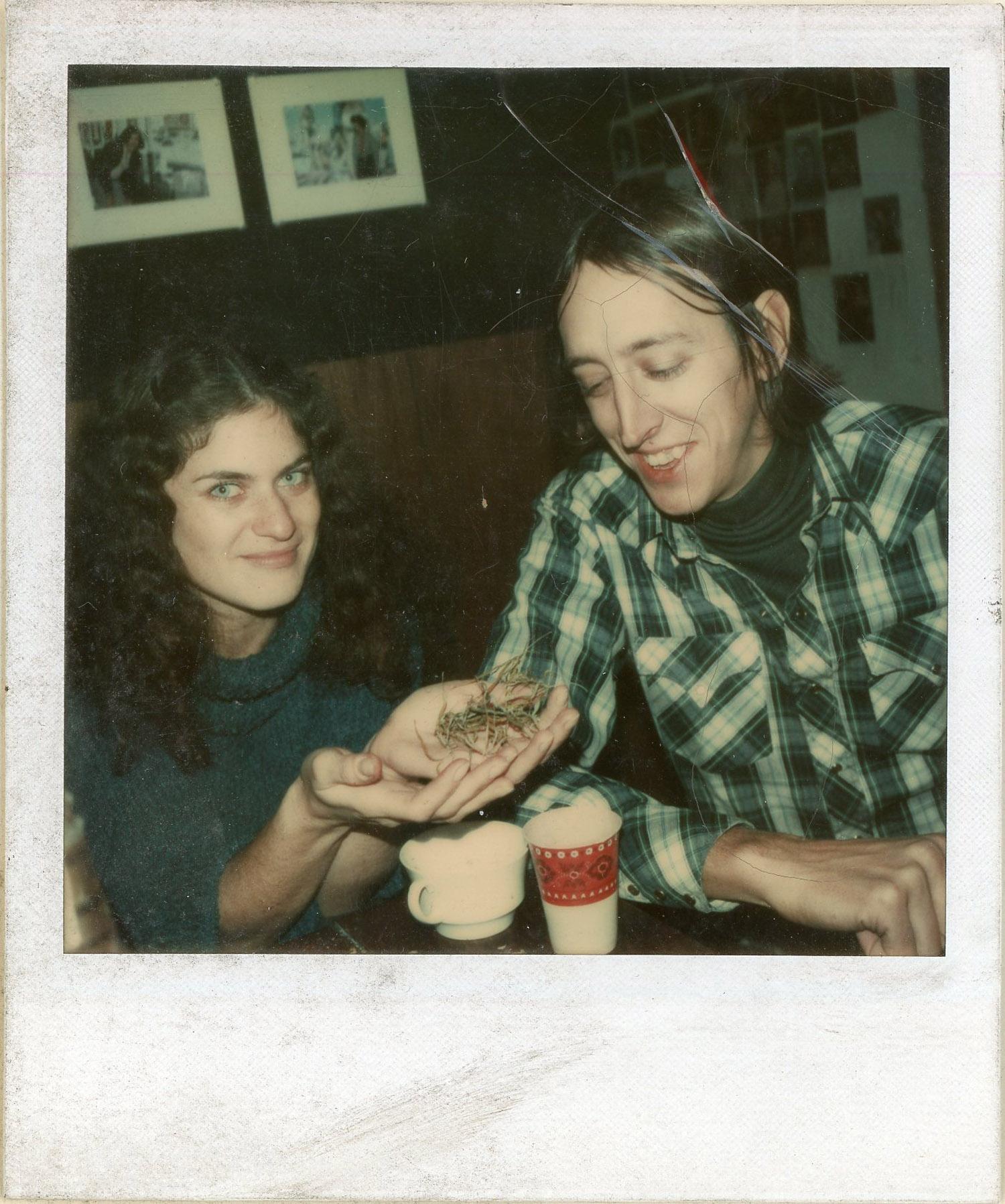 Eve Sonneman and Bob Yucikas, c. 1979.