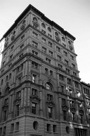 The Fine Arts Building, 105 Hudson Street, New York City. Photo courtesy Wally Gobetz.