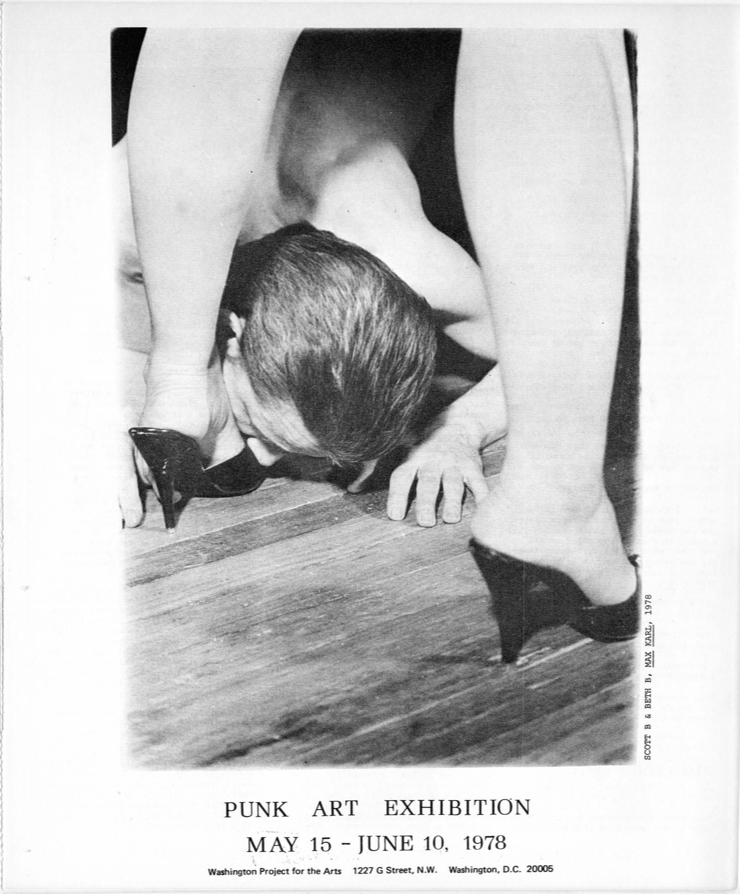 Back cover: Scott B & Beth B, Max Karl, 1978