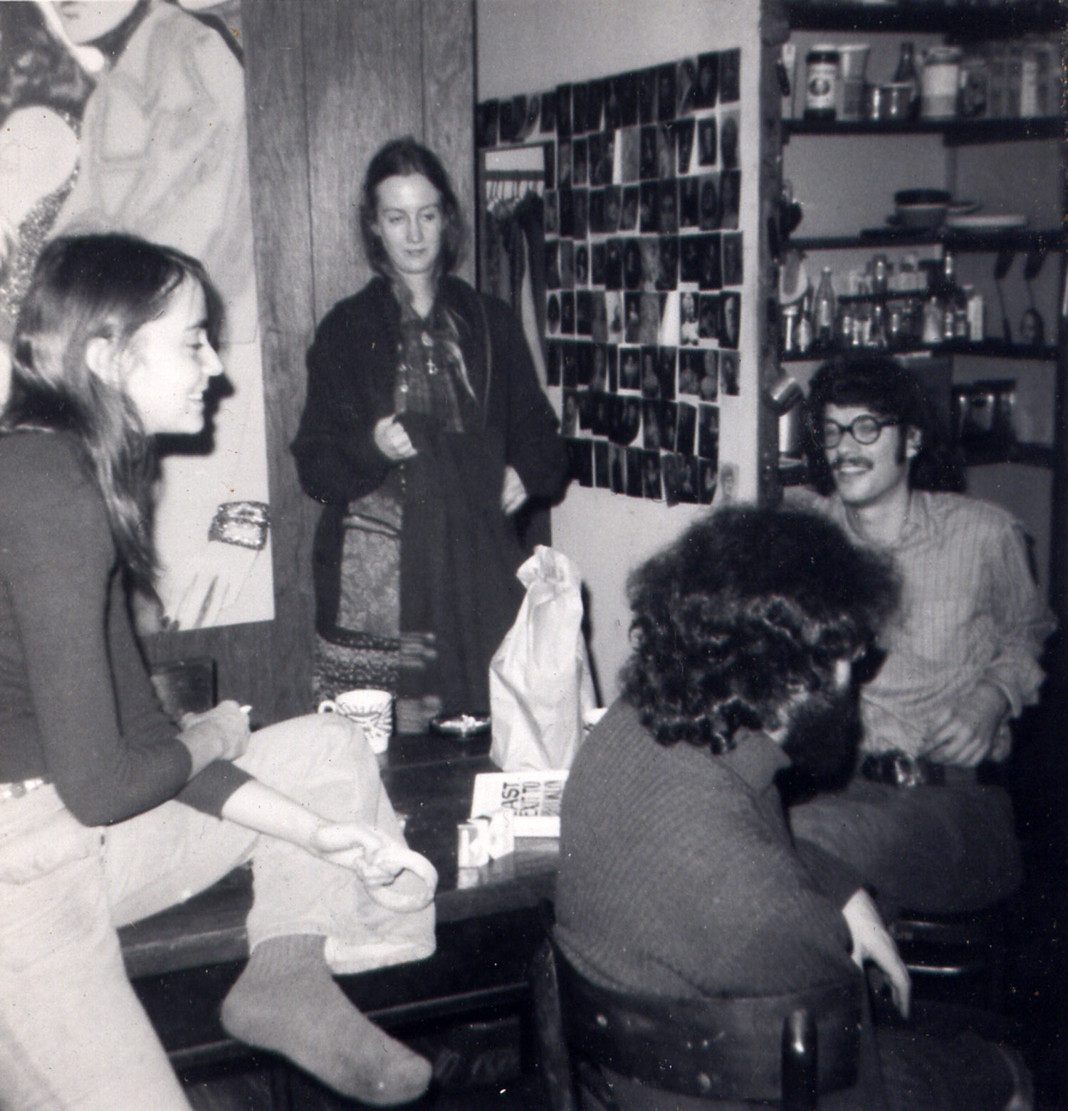 Lee Milman, Heidi Carter, Tom and Jeff Milman, c. 1970.