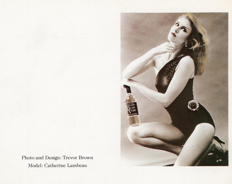 Trevor Brown, Promotional Card, c. 1971.