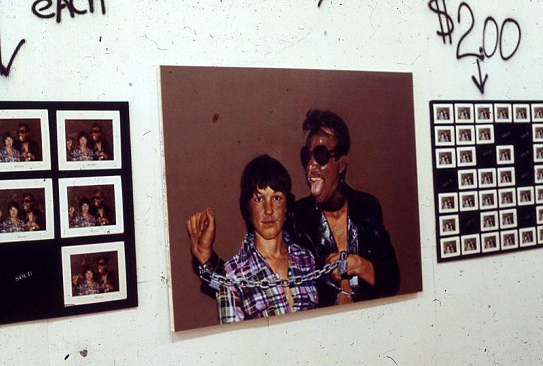 "Miller, Ringma & Hoppe, ""Bettie and Omar Bizarre,"" oil on canvas, 1978"