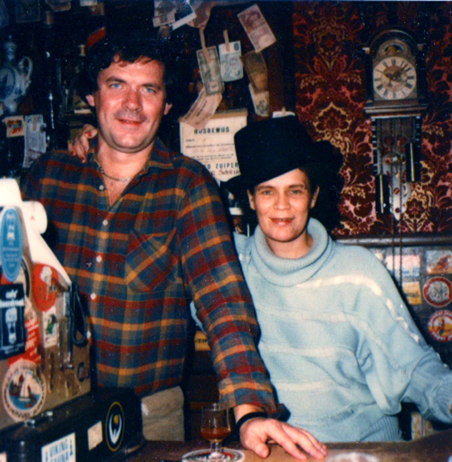 Owner Johan and customer