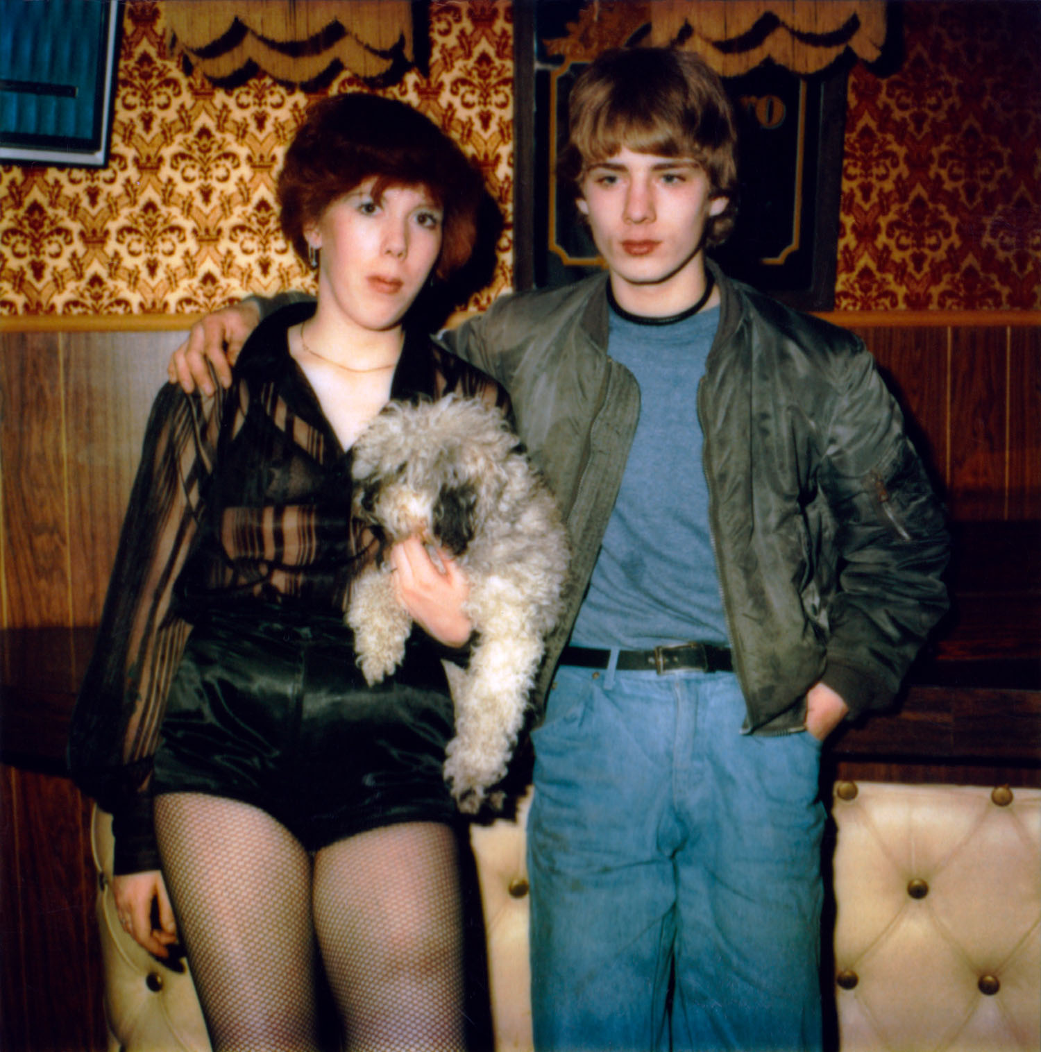 Sister and brother at Café de Waag
