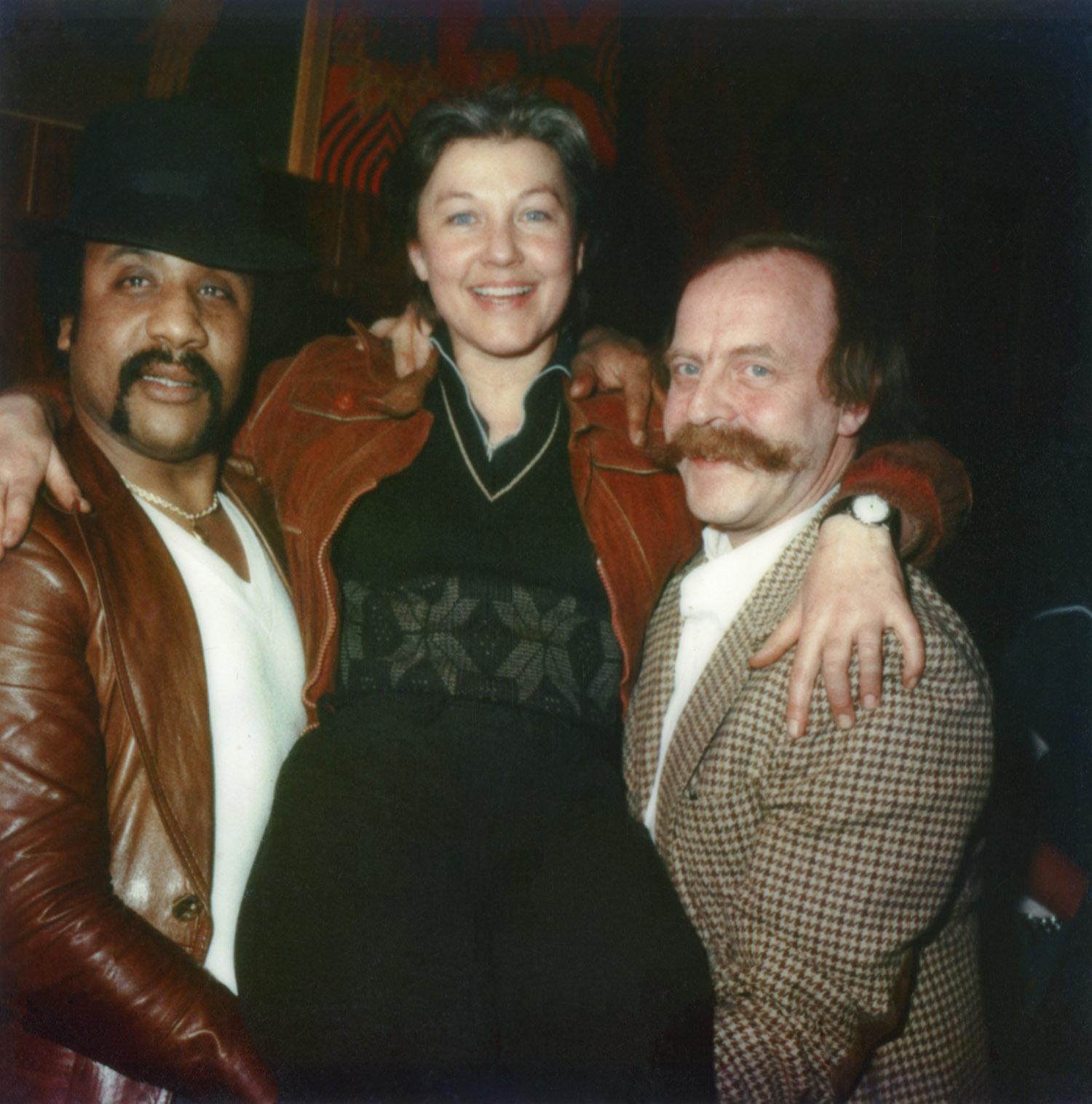 Ali, Bettie and Henk