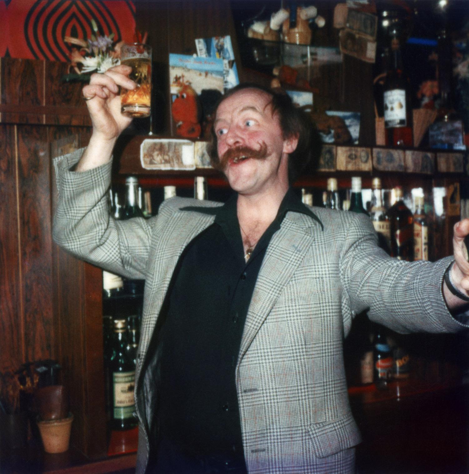 Bar owner Henk