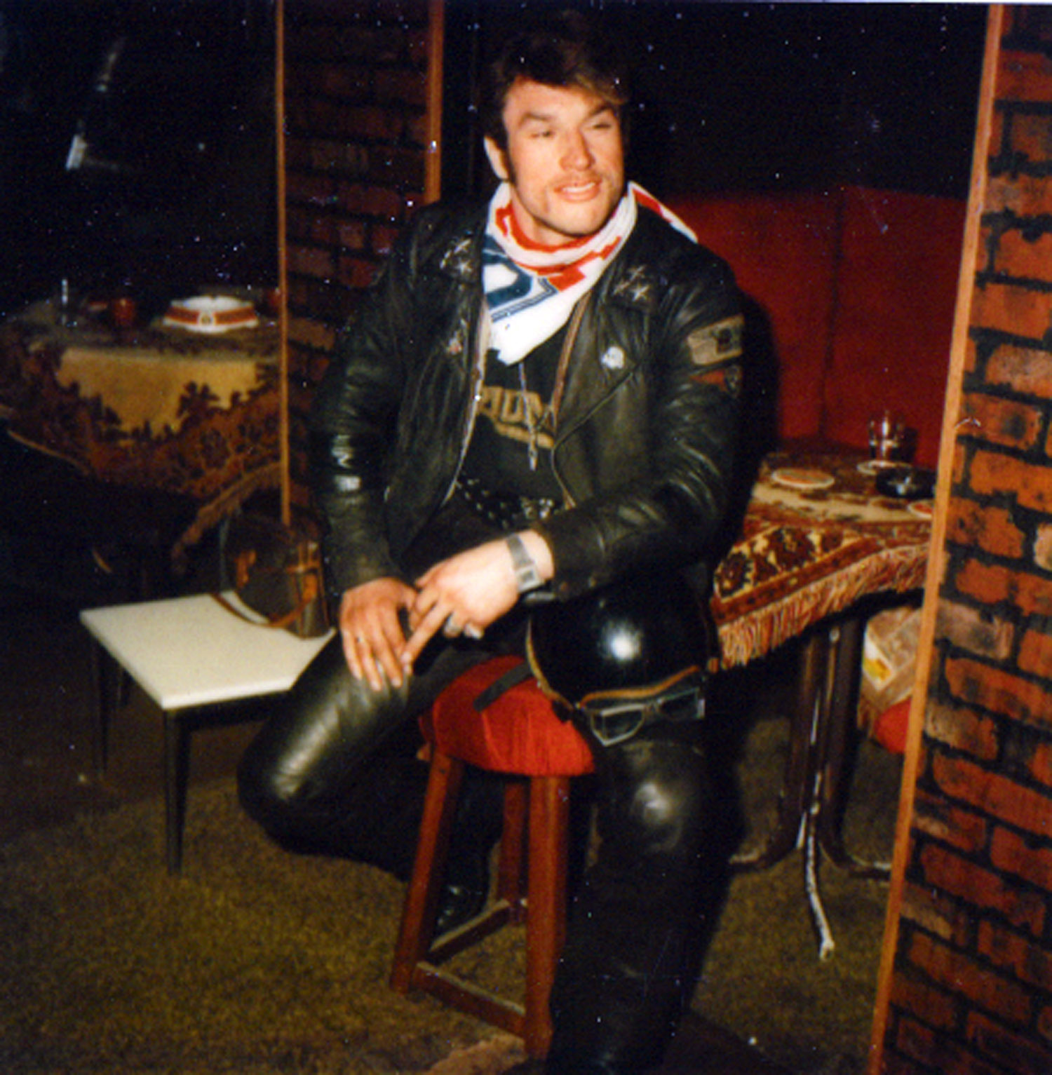 A biker from Germany