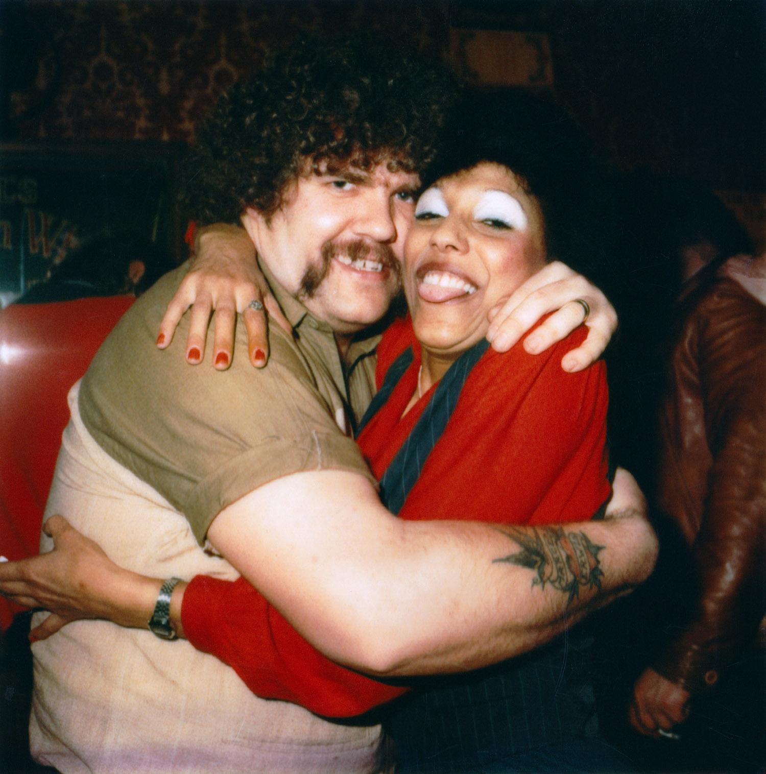 Piet and Pattie at Café Rox