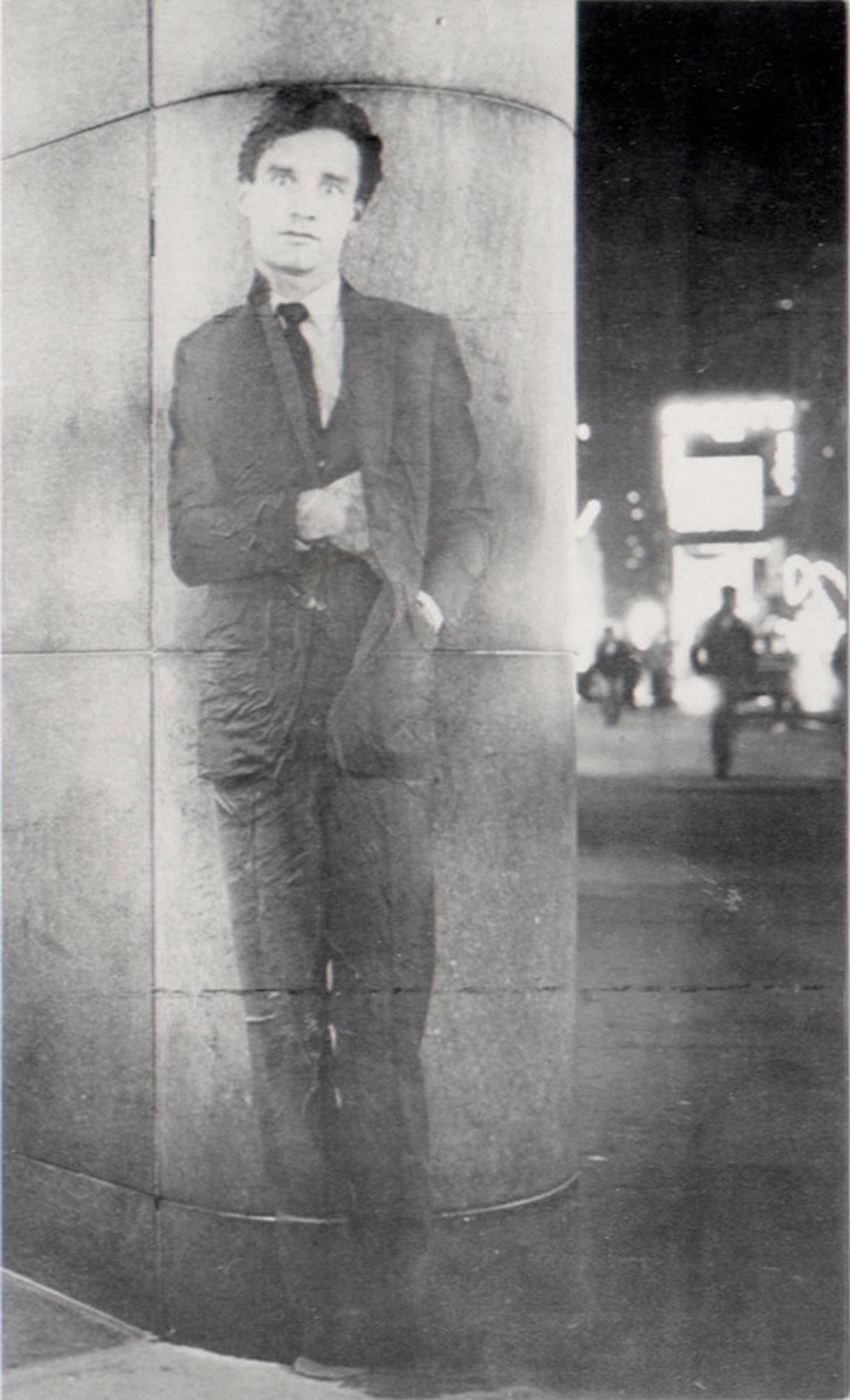 "Richard Hambleton, ""I Only Have Eyes for You,"" Postcard, 1981"