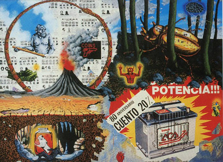 Gracie Mansion Gallery, David Wojnarowicz, The Four Elements, Folded Card, 1987