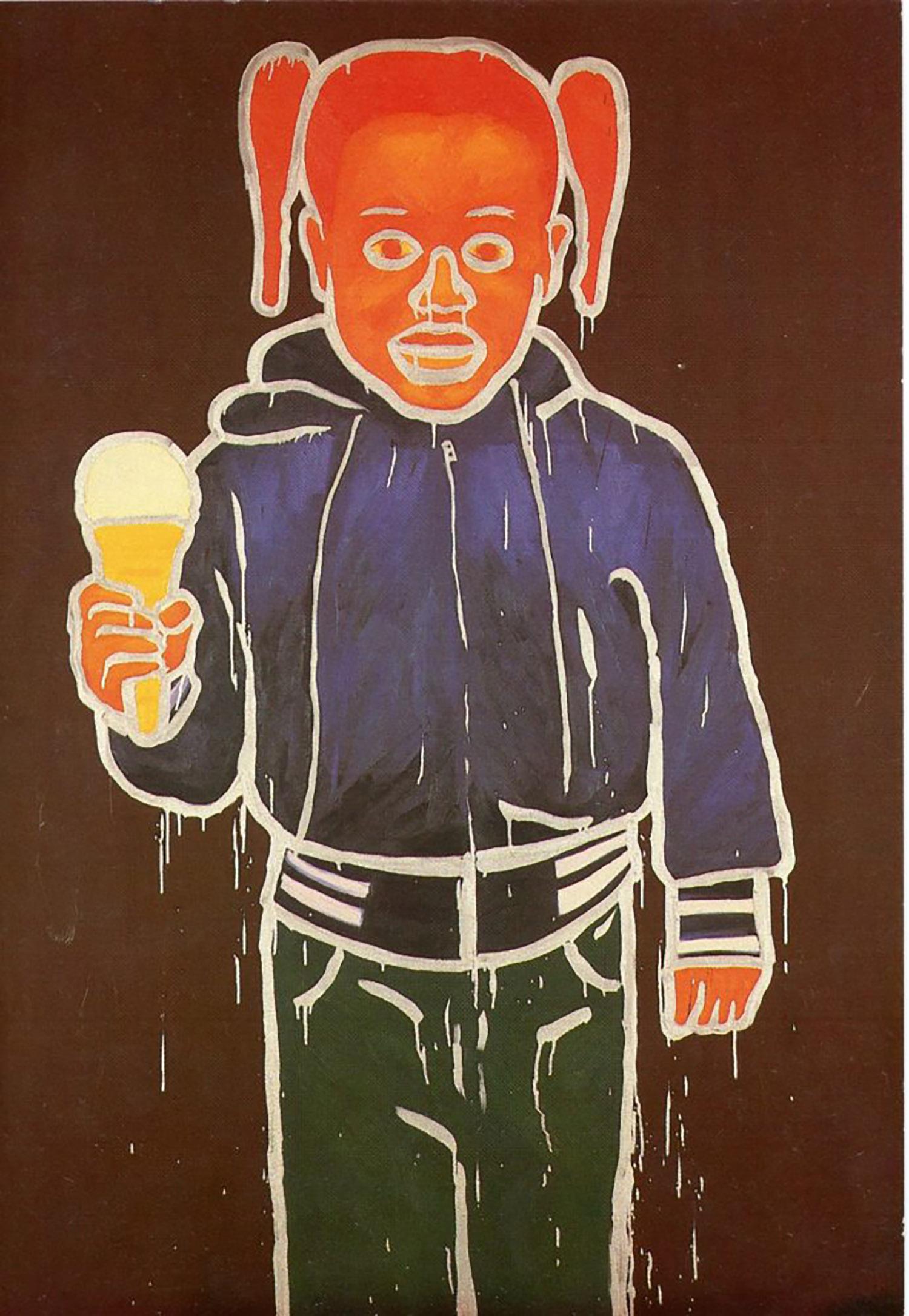 Semaphore, Bobby G, Card, 1984