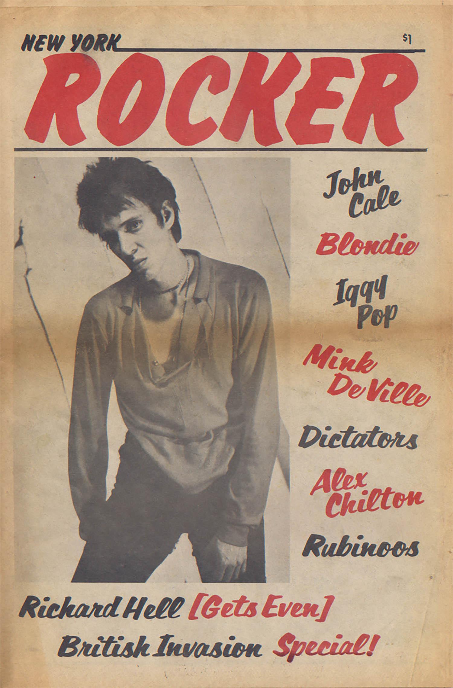 Richard Hell, Iggy Pop, Blondie; Issue No. 7, June, 1977