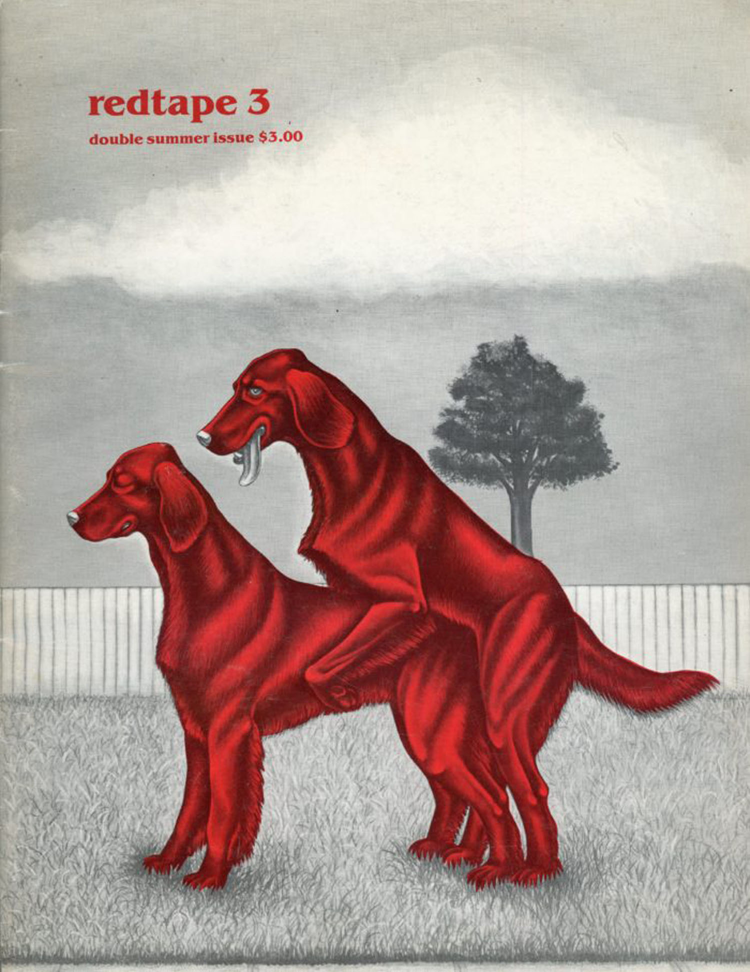 Redtape #3 1983 – cover by Michael Rheingold with Greer Langton & others