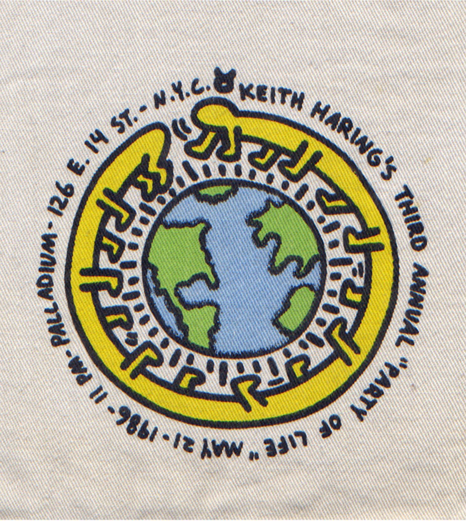 "Palladium, ""Keith Haring's Third Annual Party of Life"", Shorts, 1986"