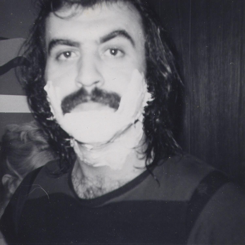 Mike shaving, c. 1970.