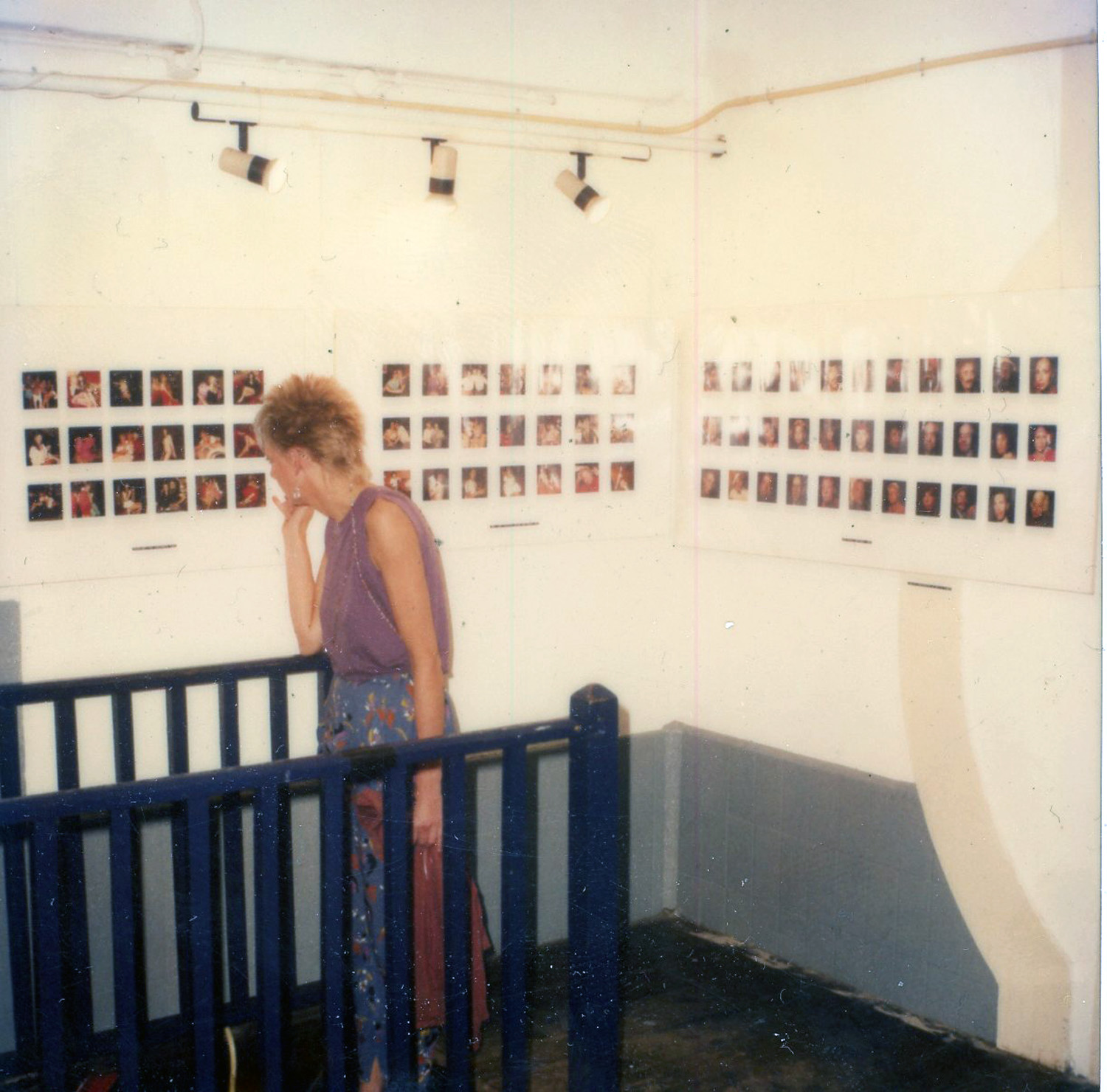 View of the installation at Art Something, 1980