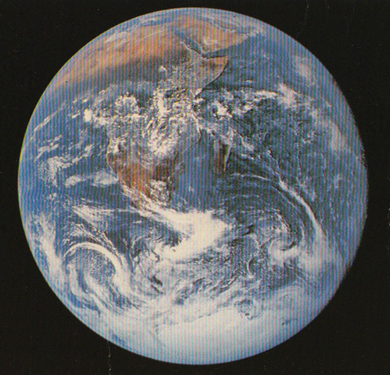 Harrison Schmitt, Blue Marble (full earth), 1972, Courtesy NASA