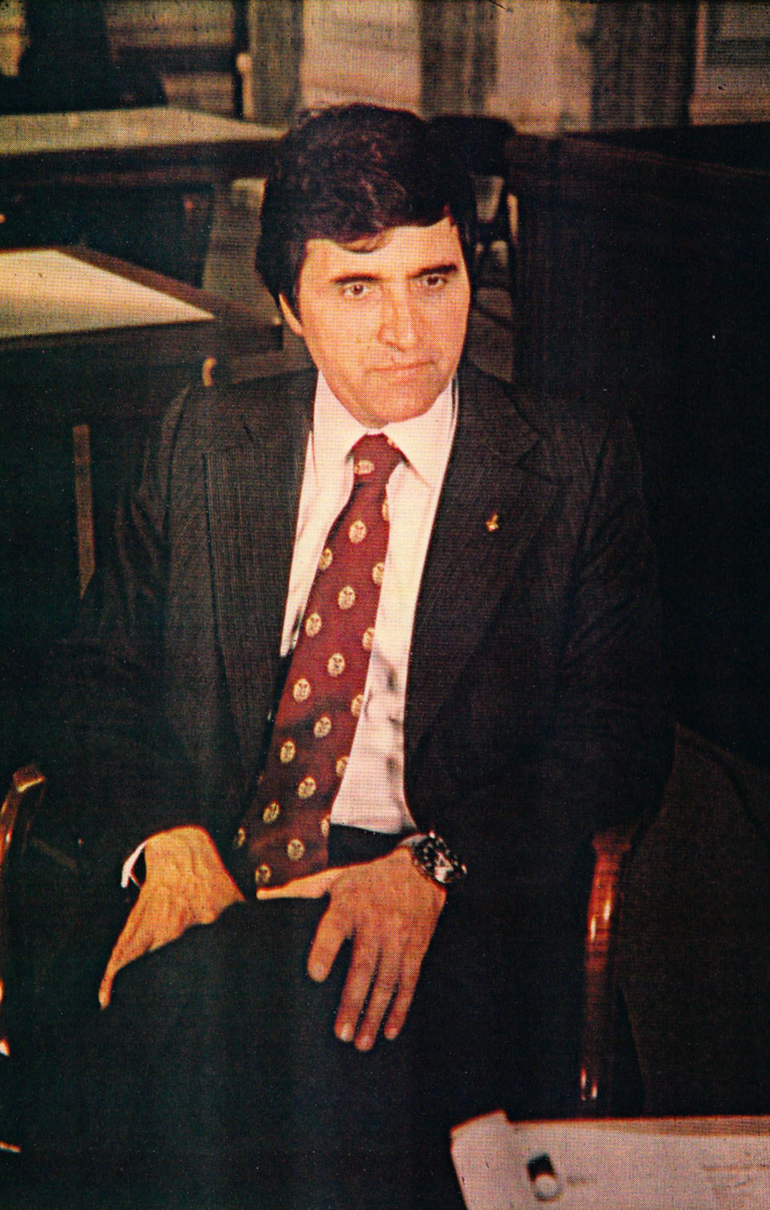 Miller & Ringma, Portrait of Harrison Schmitt, 1976