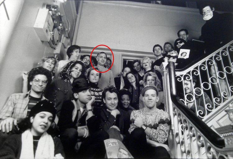 East Village Eye Staff, Christmas 1984