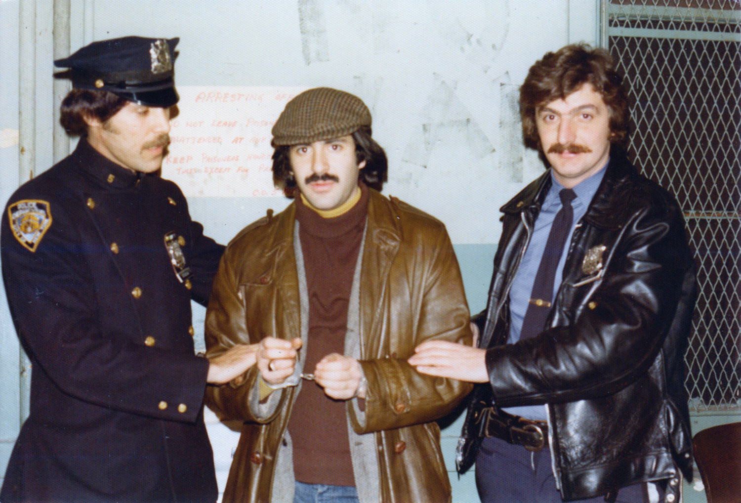 Marc with Policemen George De Salvio and Bob Abi