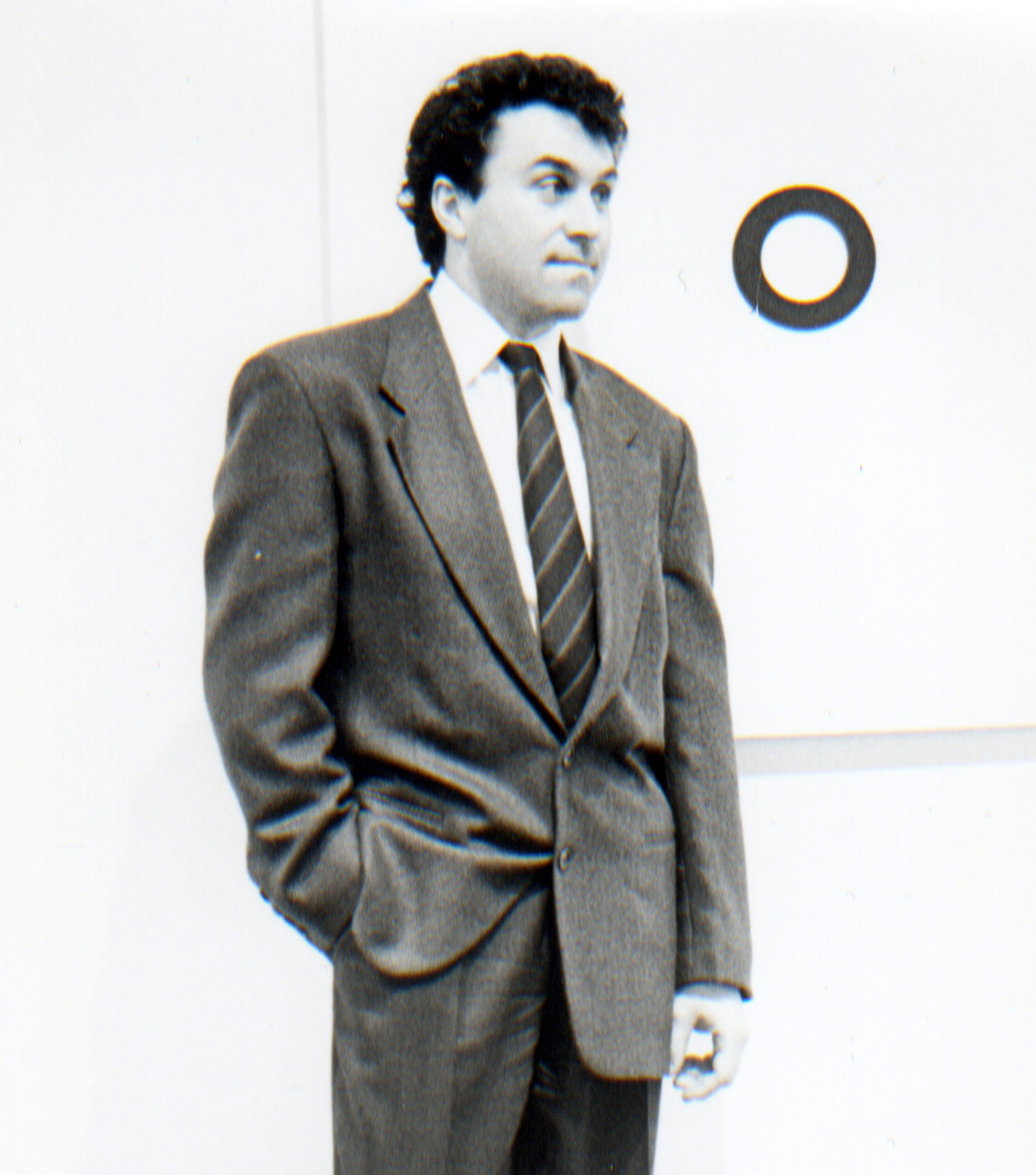 Louis Grachos, director of exhibitions, c. 1990