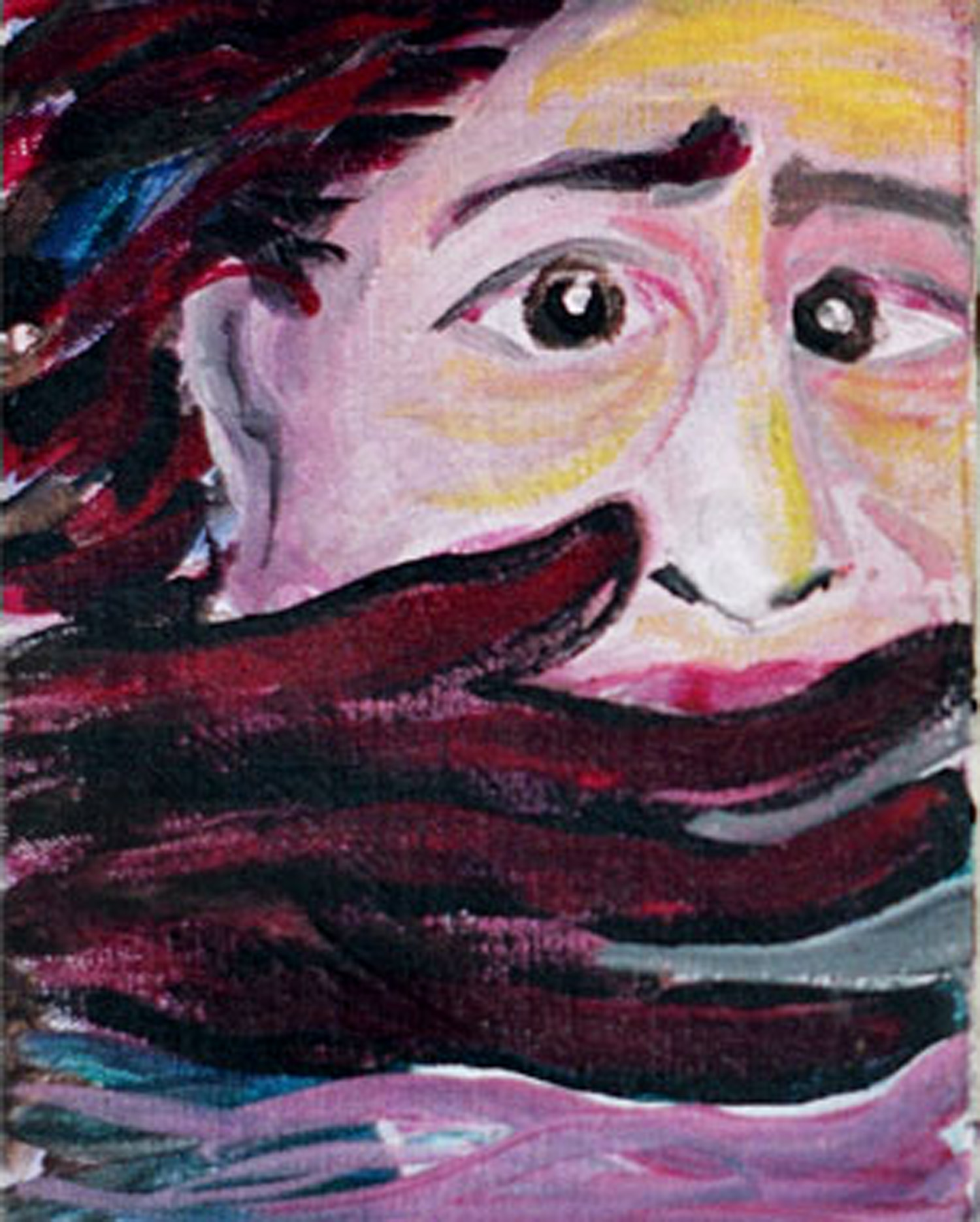 Ellen Cooper, oil on canvas