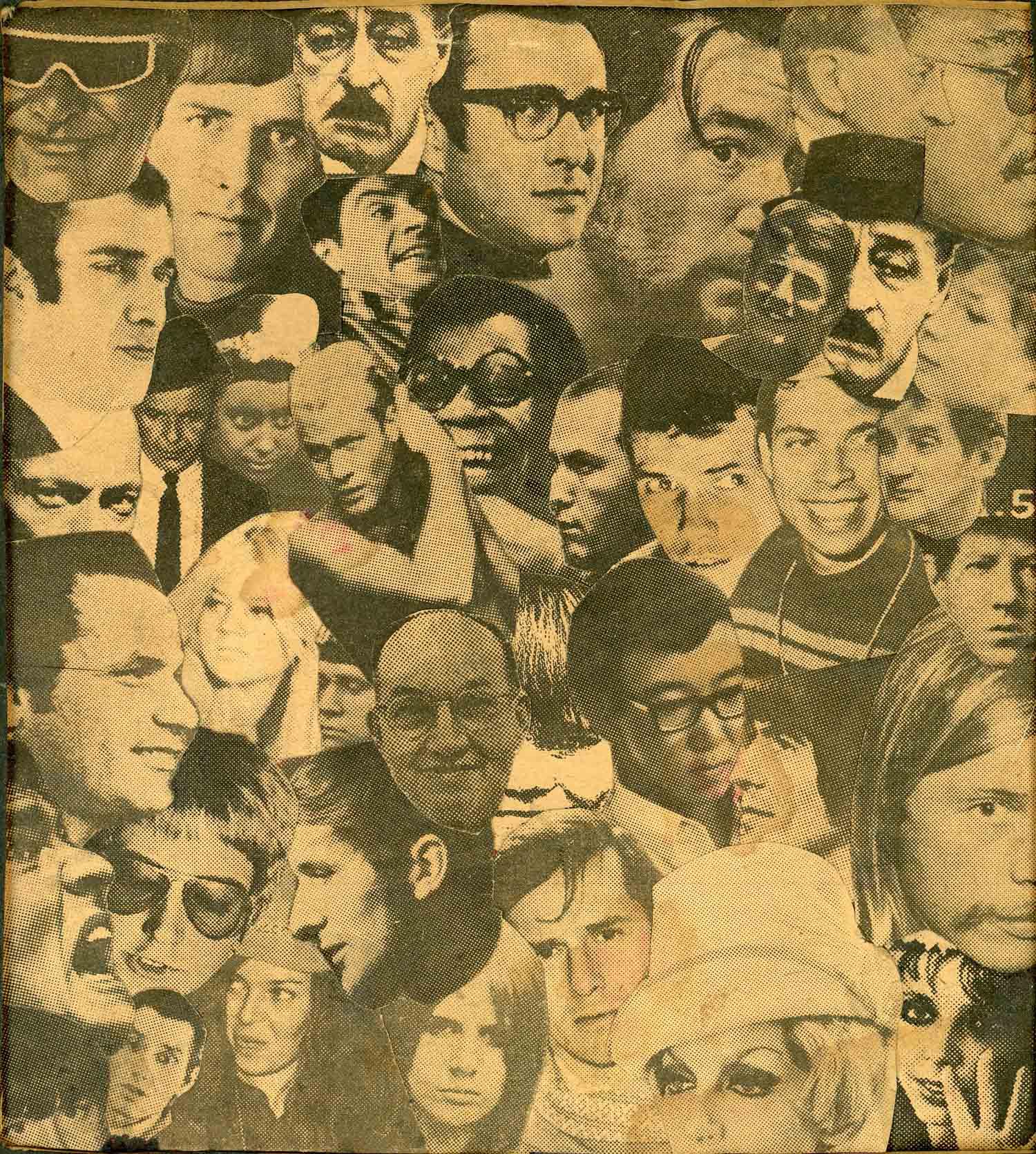 Marc H Miller, Collage, c. 1972.